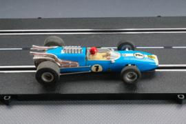 Fleischmann Auto-Rallye. Ferrari  F1 blauw  nr. 3201