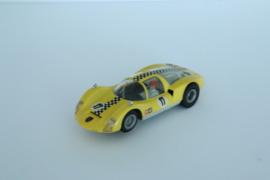Fleischmann Auto-Rallye Porsche Carrera 6 Geel nr. 3222