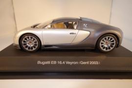1:24  Bugatti EB 16.4 Veyron zilver/grijs metallic   nr. 14152
