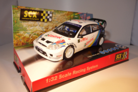 SCX Ford Focus Rallye WRC 'Montecarlo' ref: 61470 Nieuw in OVP.