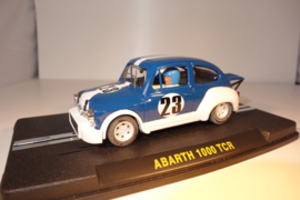 ReproTec Abarth 1000 TCR Blauw met witte strepen nr.1956 in OVP.
