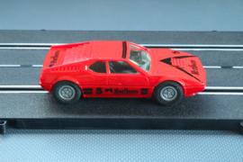 Fleischmann Auto-Rallye.   BMW M1 rood   nr. 3240
