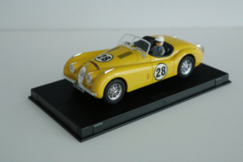 Ninco Jaguar XK120 Yellow Limited Edition nr.91009 In OVP*. Nieuw!