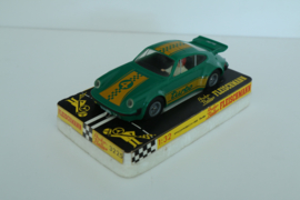 Fleischmann Auto-Rallye. Porsche Turbo Groen nr. 3225 in OVP.