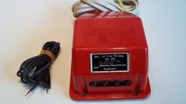 Temsi transformator 1,5 A.  nr. 203 rood of blauw