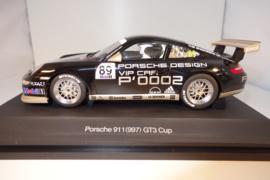 1:24  Porsche 911 (997) GT3 Cup   zwart nr. 14546    Porsche Cup Car 2007