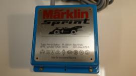 Märklin Sprint. Gelijkstroom trafo 14 volt nr. 6771