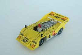 Fleischmann Auto-Rallye. Porsche Can-AM 917 geel  nr. 3202 Nieuw!