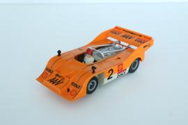 Fleischmann Auto-Rallye. Porsche Can-AM 917  oranje  nr. 3203 Nieuw!