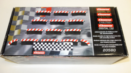 Carrera Excl./Evo./Digi set buiten-slipstroken t.b.v. kuipbocht 4/15. Nr. 20580
