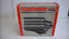 Fleischmann Auto-Rallye. 1/2 recht 3102. 10 stuks in OVP grijs. New Old Stock.
