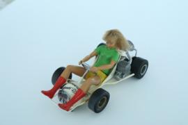 Fleischmann Auto-Rallye Go-Cart vrouw nr. 3270