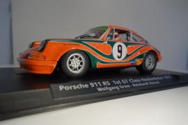 Fly Porsche 911 RS      1st. GT Class Hockenheim 1972  Ref: 99018 in OVP Nieuw!