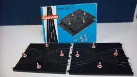 Carrera Universal Set baanwissels met pionnen nr. 50534 in OVP