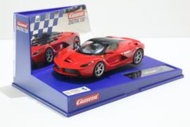 Carrera Digital 132 Ferrari Laferrari Rood nr. 30655 in OVP. Nieuw!