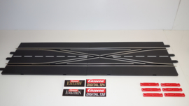 Carrera ExclusiV/Evolution/Digital kruiswissel-set  nr. 30347.    3*
