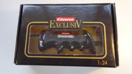 Carrera ExclusiV analoge regelaar zwart met gladsnoer. nr. 20708  2,5mm . Nieuw in OVP