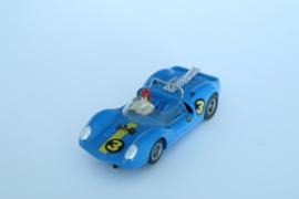 Fleischmann Auto-Rallye. Ford Lotus blauw  nr. 3210