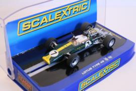 Scalextric Lotus 49 Graham Hill No.7 nr. C3031 in OVP.* Nieuw!
