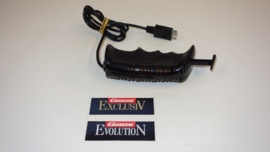 Carrera Evolution analoge regelaar zwart met gladsnoer. nr. 20708  3mm