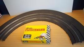 Fleischmann Auto-Rallye.  Kuipbocht 3152.     set in OVP geel