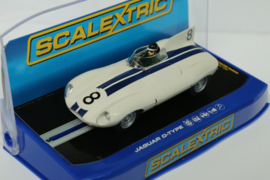 Scalextric Jaguar D-Type No.8 nr.C3308 in OVP*. Nieuw!