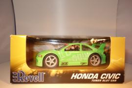 Revell Honda Civic Groen. Tuner Slotcar nr. 85-4871 in OVP. Nieuw!