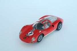 Fleischmann Auto-Rallye Porsche Carrera 6 Rood nr. 3220