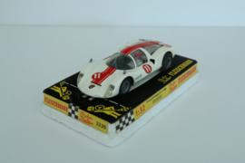 Fleischmann Auto-Rallye. Porsche Carrera 6 Wit nr. 3220 in OVP