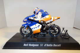 Scalextric MotoGP Ducati.  Coureur Neil Hodgson.  nr C6012 in OVP.