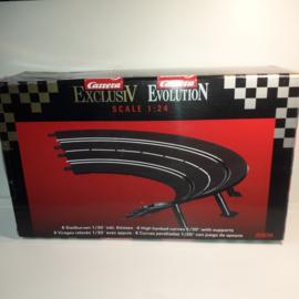 Carrera ExclusiV/ Evolution/ Digital Kuipbochtset 1/30⁰ nr. 20574 in OVP