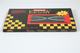 Carrera ExclusiV/Evolution/Digital OVP Baanwissel set nr. 20517 4*