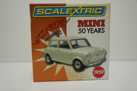 Scalextric Mini 50 Years giftset Limited Edition nr. C2980A in OVP. Nieuw!