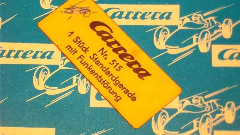 Carrera Universal Standaard recht met radio-ontstoring nr. 515 in OVP