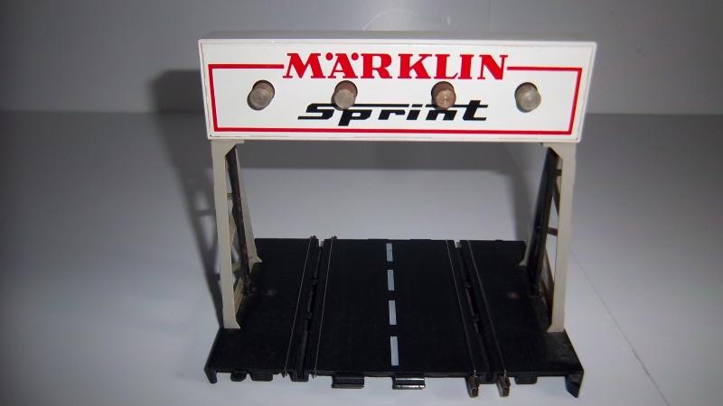 Märklin Sprint.  Rondenteller nr. 1545