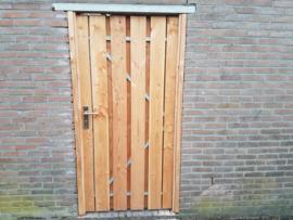 Douglas houten poorten enkel