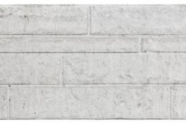Onderplaat rotsmotief Grijs/wit