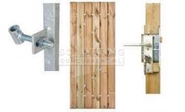 Poorten hout of staal