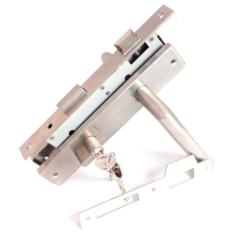 RVS slot deurbeslag cilinderslot