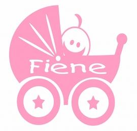 Geboortesticker kinderwagen type Fiene