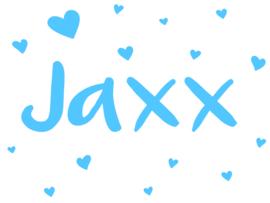 Geboortesticker type Jaxx