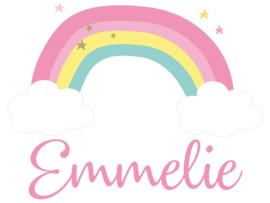 Geboortesticker full colour type Emmelie