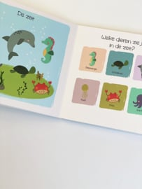 Mijn eerste woordjes 'dieren' educatief aanwijsboekje.