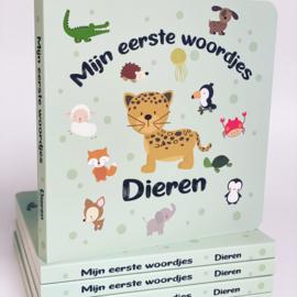 Mijn eerste woordjes 'dieren' aanwijsboekje.