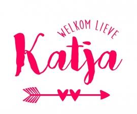 Geboortesticker type Katja