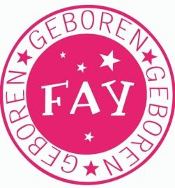 Geboortesticker type Fay