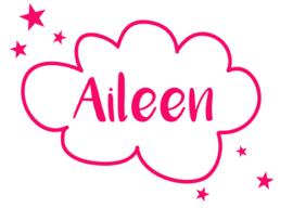 Geboortesticker meisje type Aileen