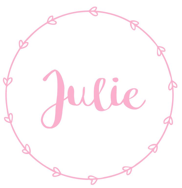 Geboortesticker meisje type Julie