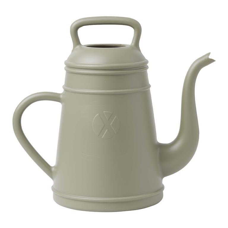 Lungo Xala Gieter 8 liter Olijfgrijs kleur