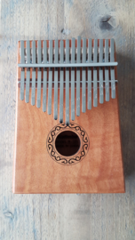 Wooden Kalimba (Thumb Piano) - 17 Tones - C Major - African Musical Instrument